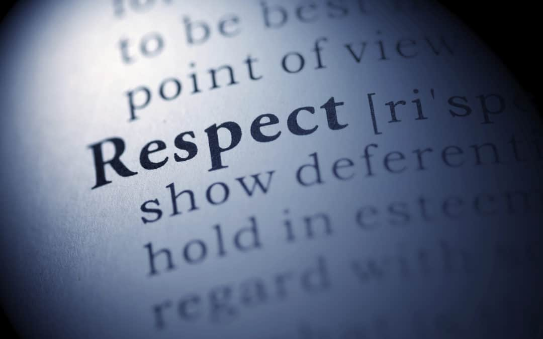 Respectfulness (January 14)
