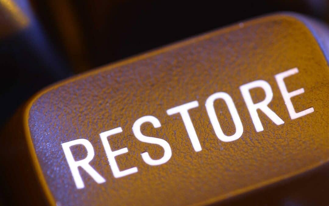 Restoration (March 6)