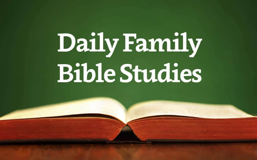 Daily Family Bible Studies - WordPoints