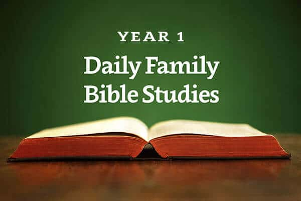 Daily Family Bible Studies - Year 1 - WordPoints